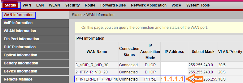 How to forward ports on Ooredoo Home Gateway - Fibre to the
