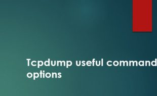 tcpdump useful commands - ITAdminGuide com