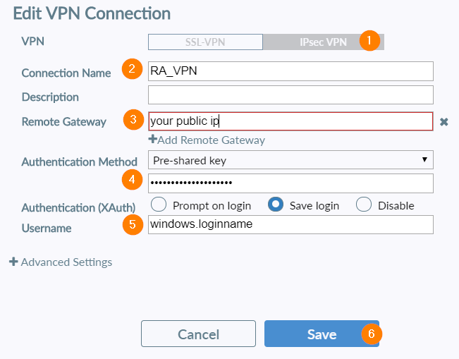 Setup Forticlient Remote Access VPN in FortiGate Firewall